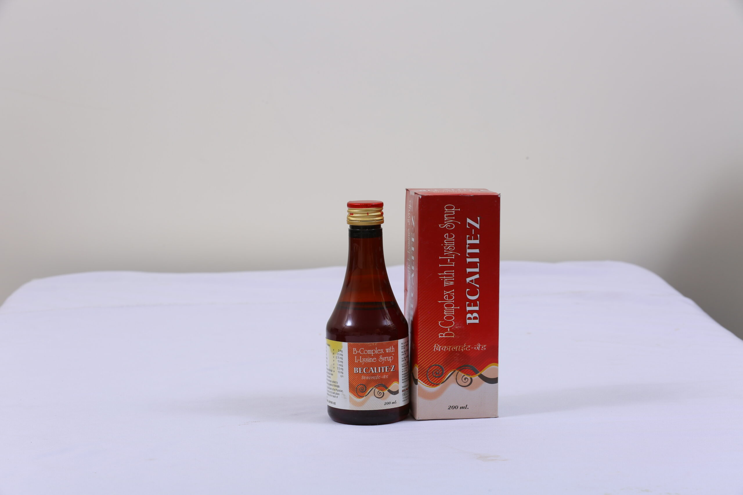 BECALITE-Z (B-Complex with Zinc Syrup)
