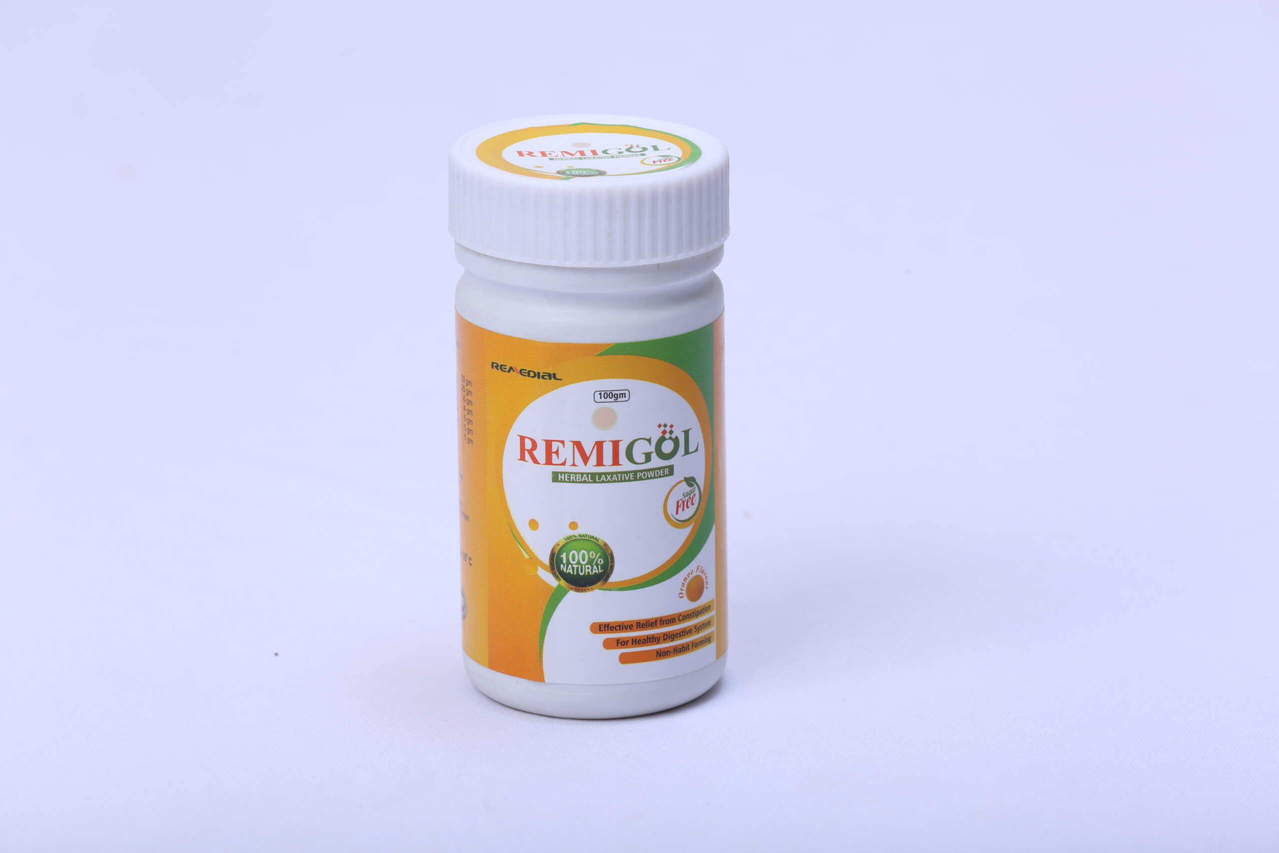 REMIGOL POWDER (Herbal Laxative Powder)