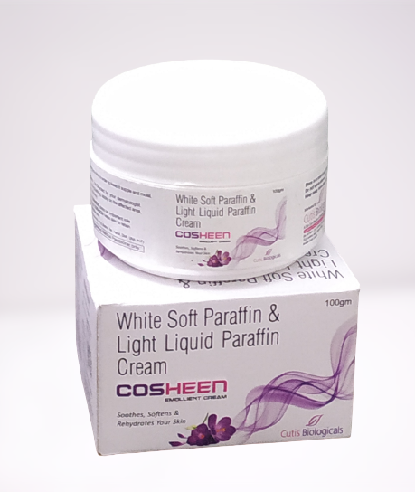 COSHEEN CREAM (White Soft Paraffin Liquid  Paraffin)