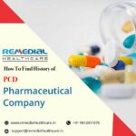 How to Find History of a PCD Pharmaceutical Company